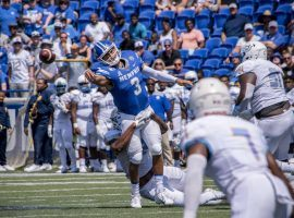Memphis quarterback Brady White as gotten better as the season has progressed. He looks to light up the Houston Cougars this Saturday. (Image: Daily Helmsman)