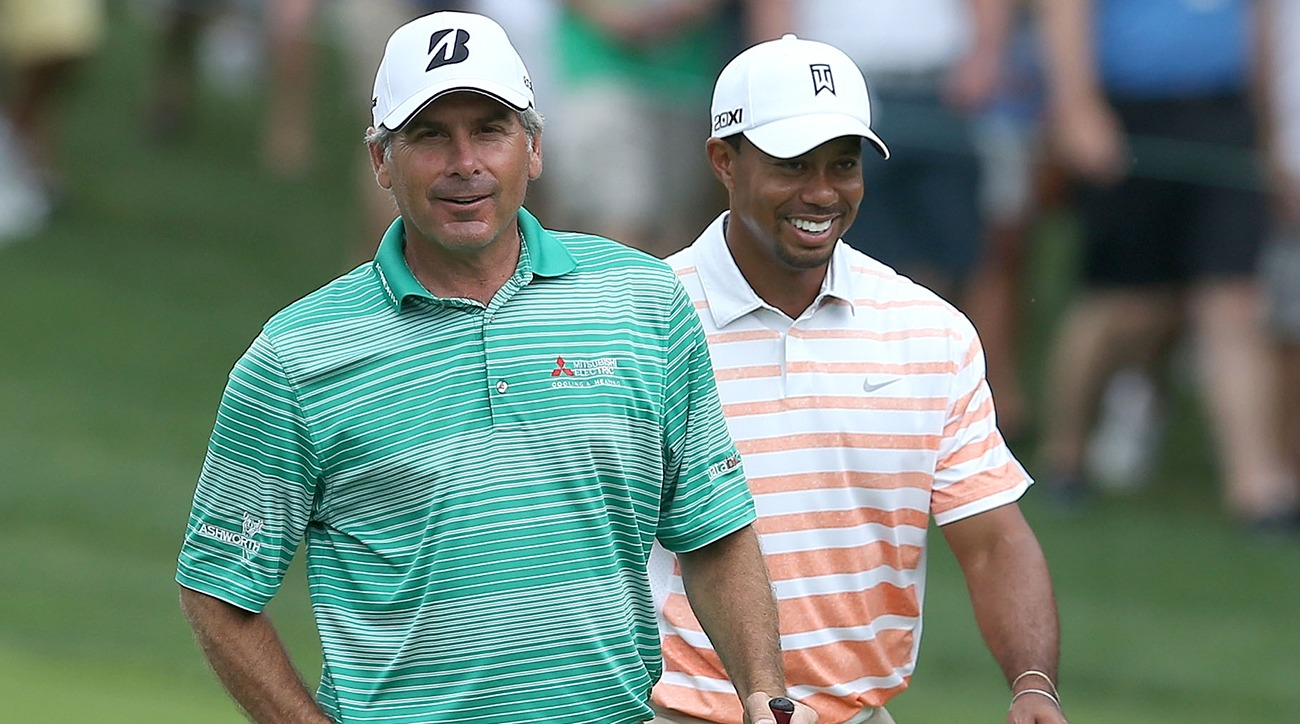 Fred Couples, Tiger Woods