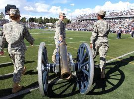 Nevada and UNLV play every season to determine the winner of the Fremont Cannon trophy. (Image: Lance Iversen/USA Today Sports)
