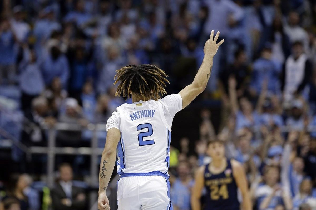 Cole Anthony North Carolina UNC freshman debut