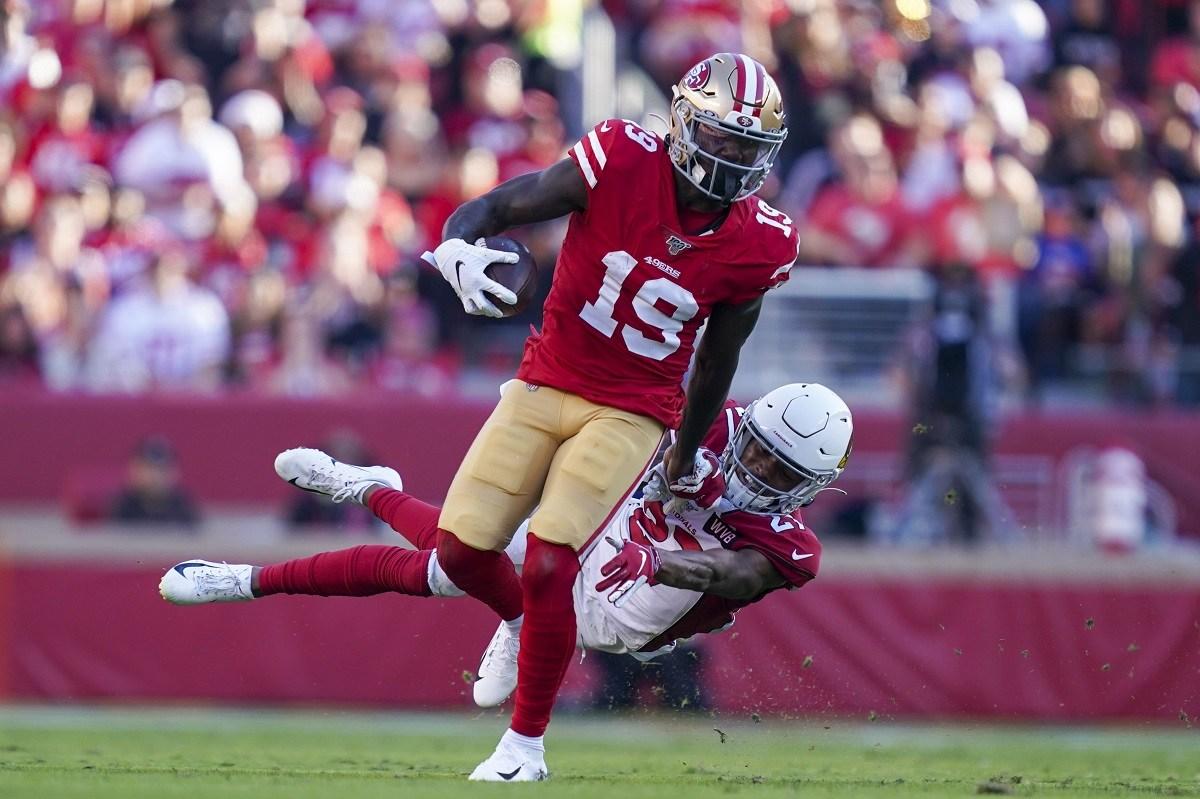 Waiver Wire Pickups NFL Week 12 Deebo Samuel Derrius Guice Jonathan Williams