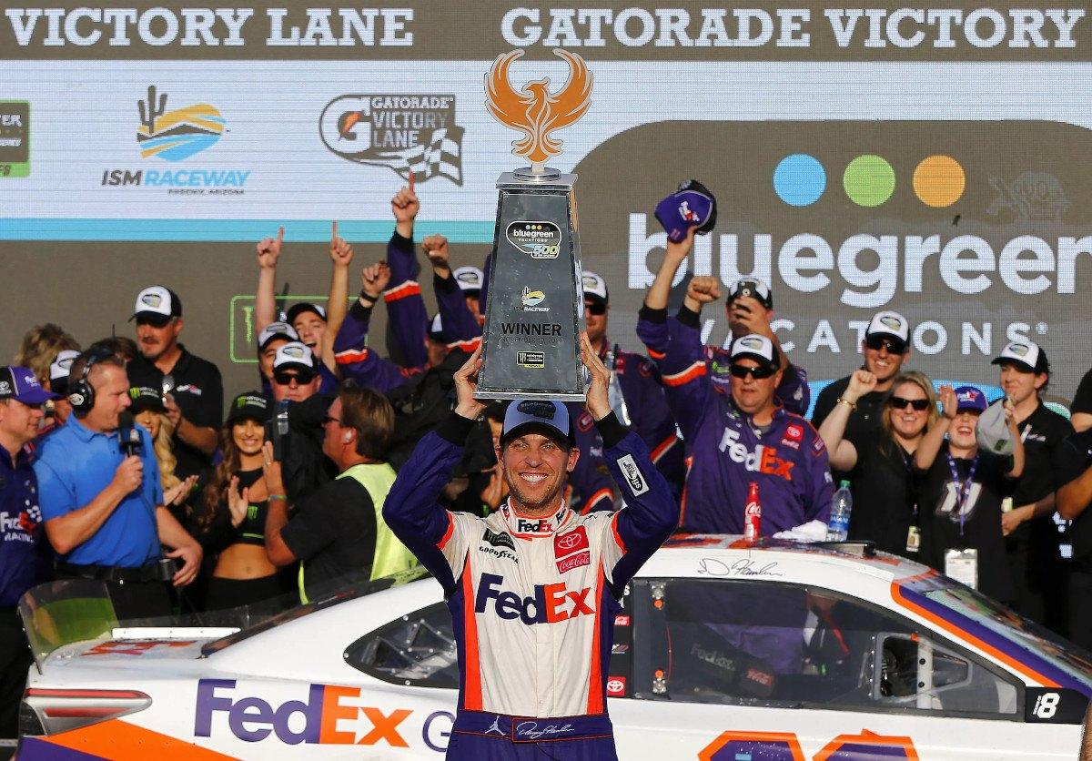Denny Hamlin NASCAR Championship 4