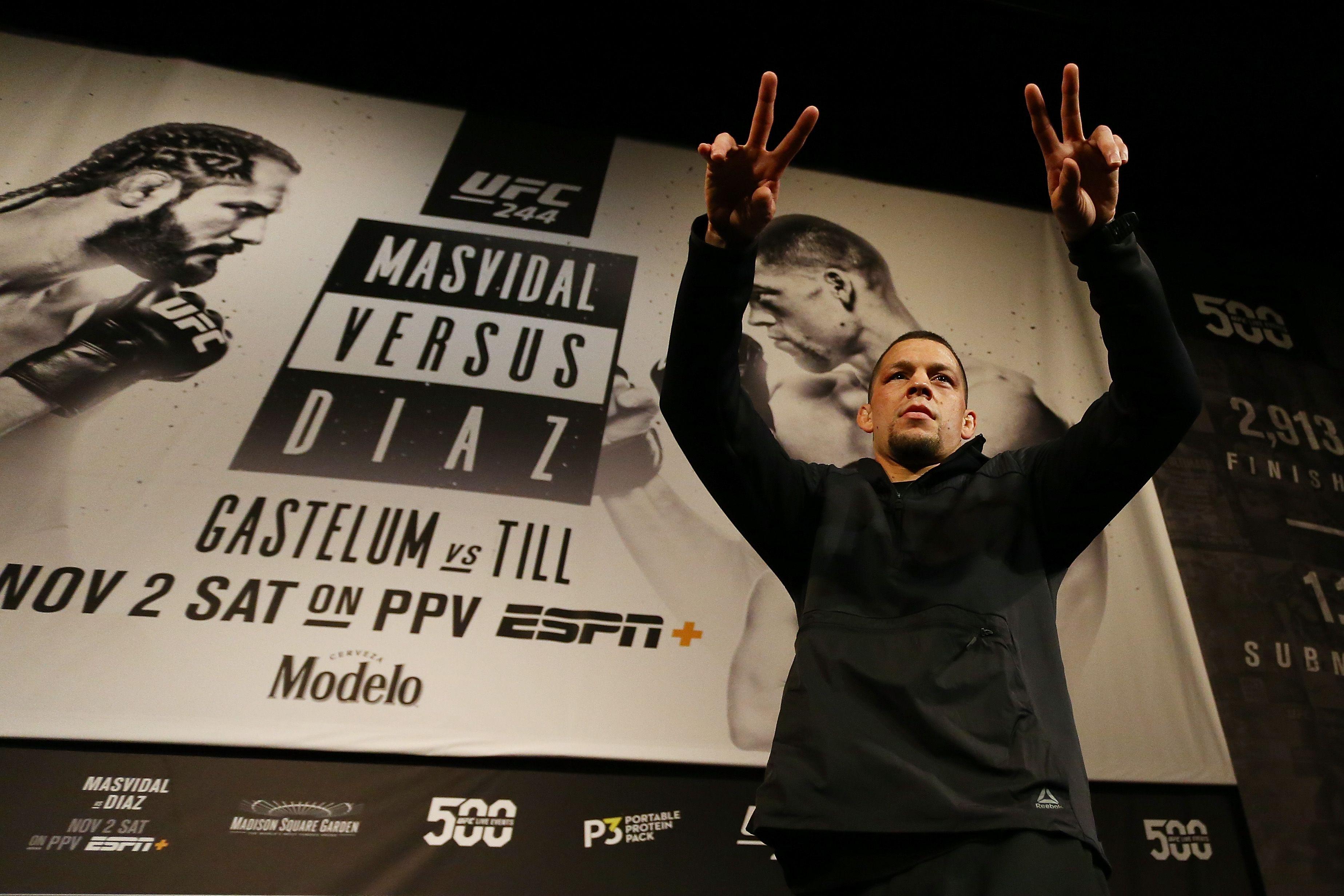 Diaz Masvidal UFC 224