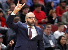 Knicks head coach David Fizdale on the sidelines at Madison Square Garden. (Image: Getty)