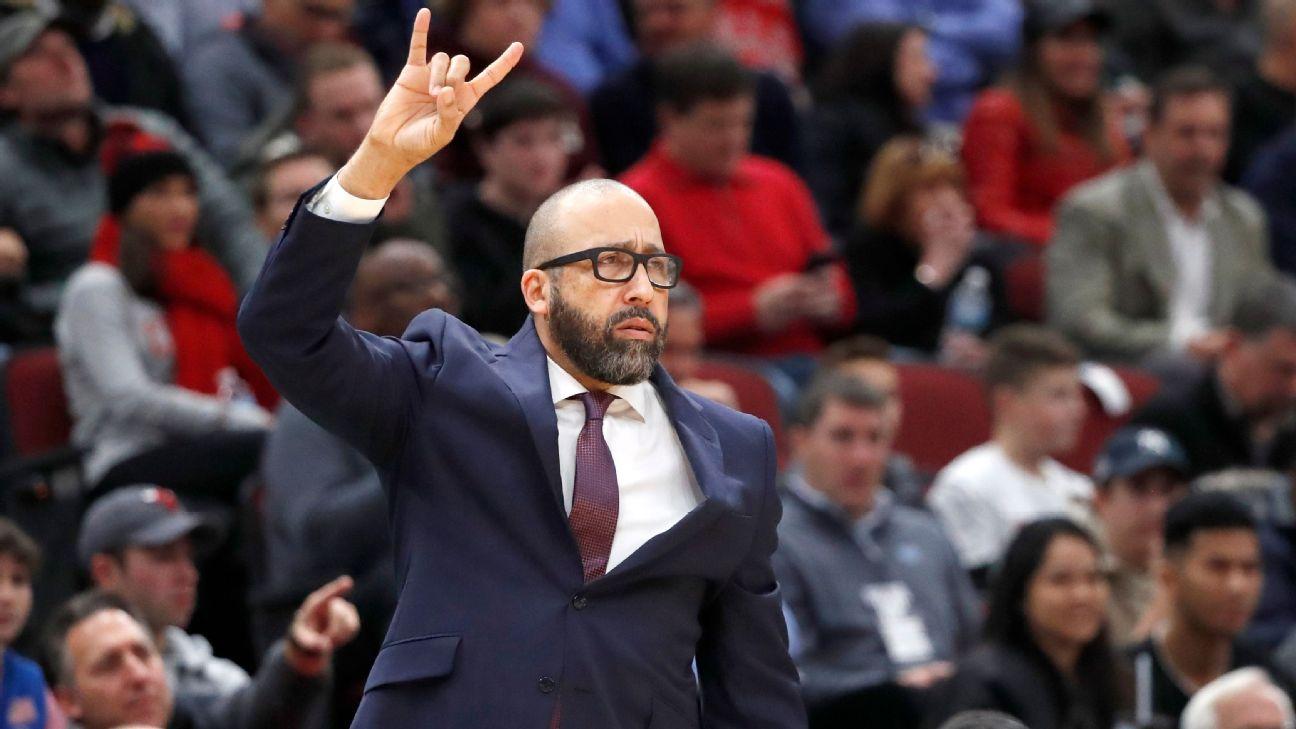 DavidFizdale New York Knicks coach Knicks suck James Dolan