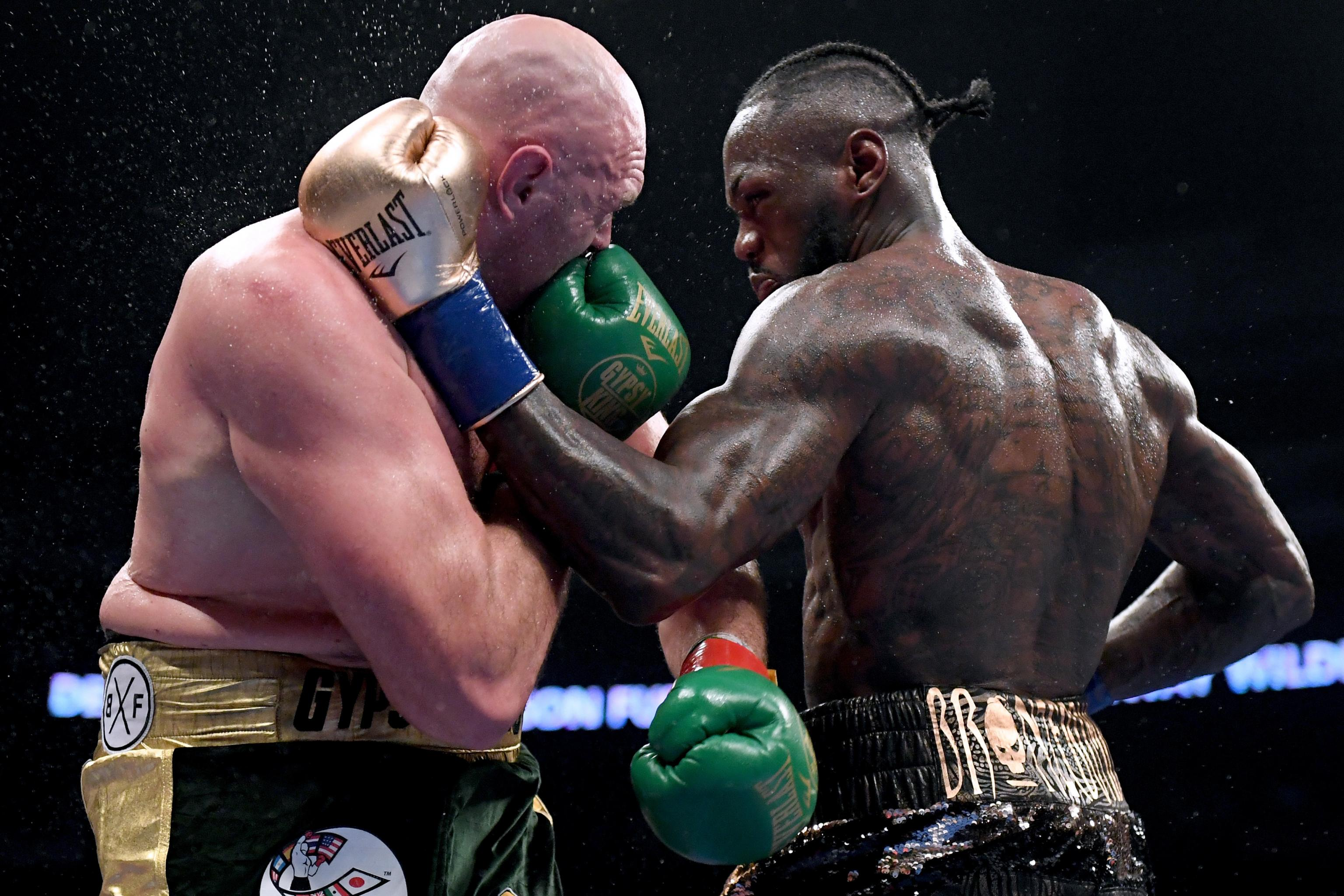 Fury Wilder odds rematch