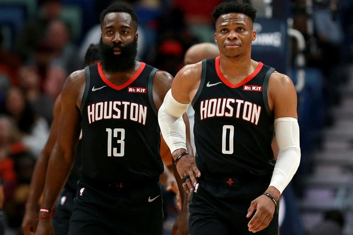 Houston Rockets James Harden Russell Westrbook