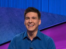James Holzhauer scored another runaway victory in the semifinals of the Jeopardy Tournament of Champions, setting up a rematch with Emma Boettcher in the final. (Image: Jeopardy Productions)