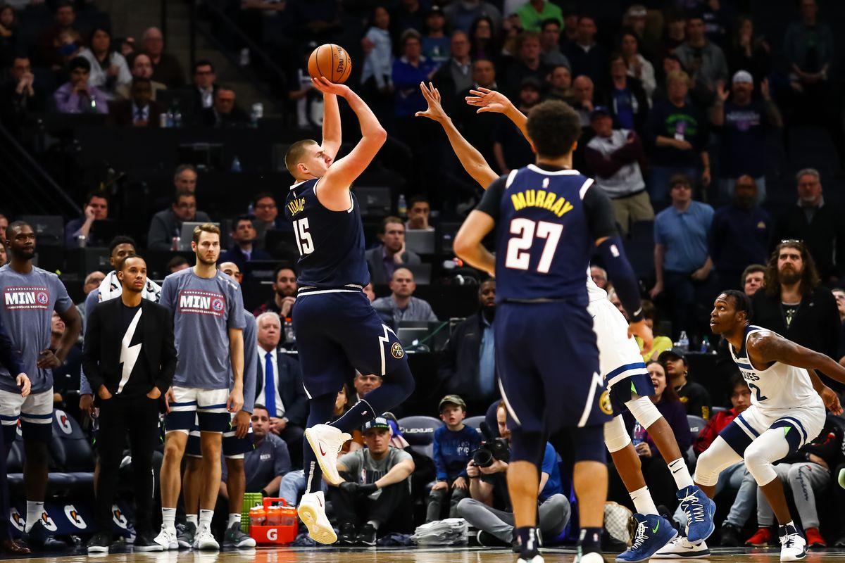 Denver Nuggets Hikola Jokic Game Winner Shot