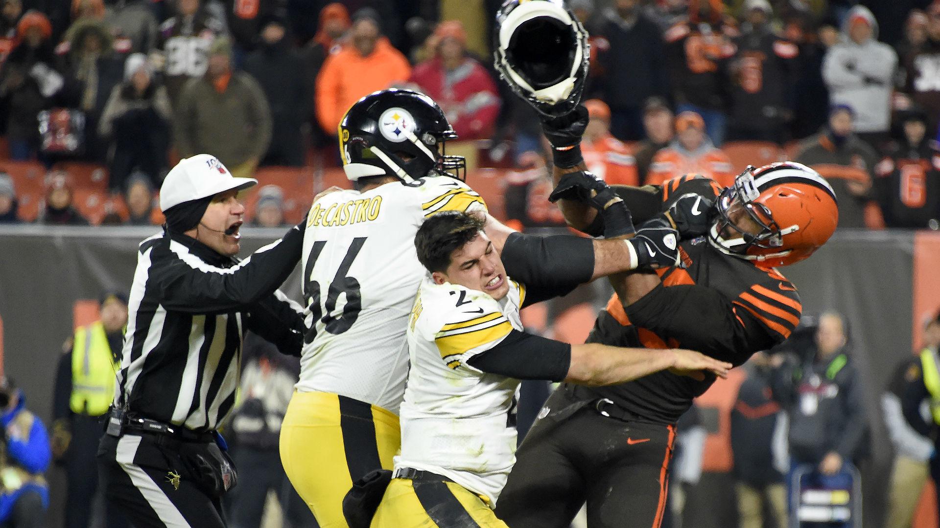 Myles Garrett helmet NFL