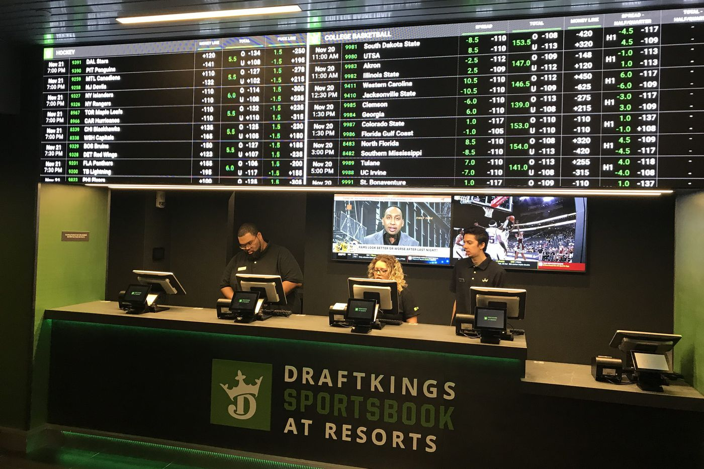 New Hampshire DraftKings sports betting