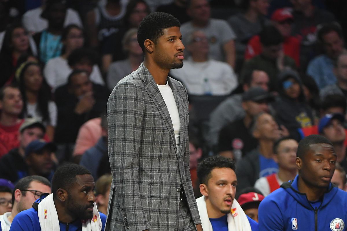 Paul George PG-13 LA Clippers debut