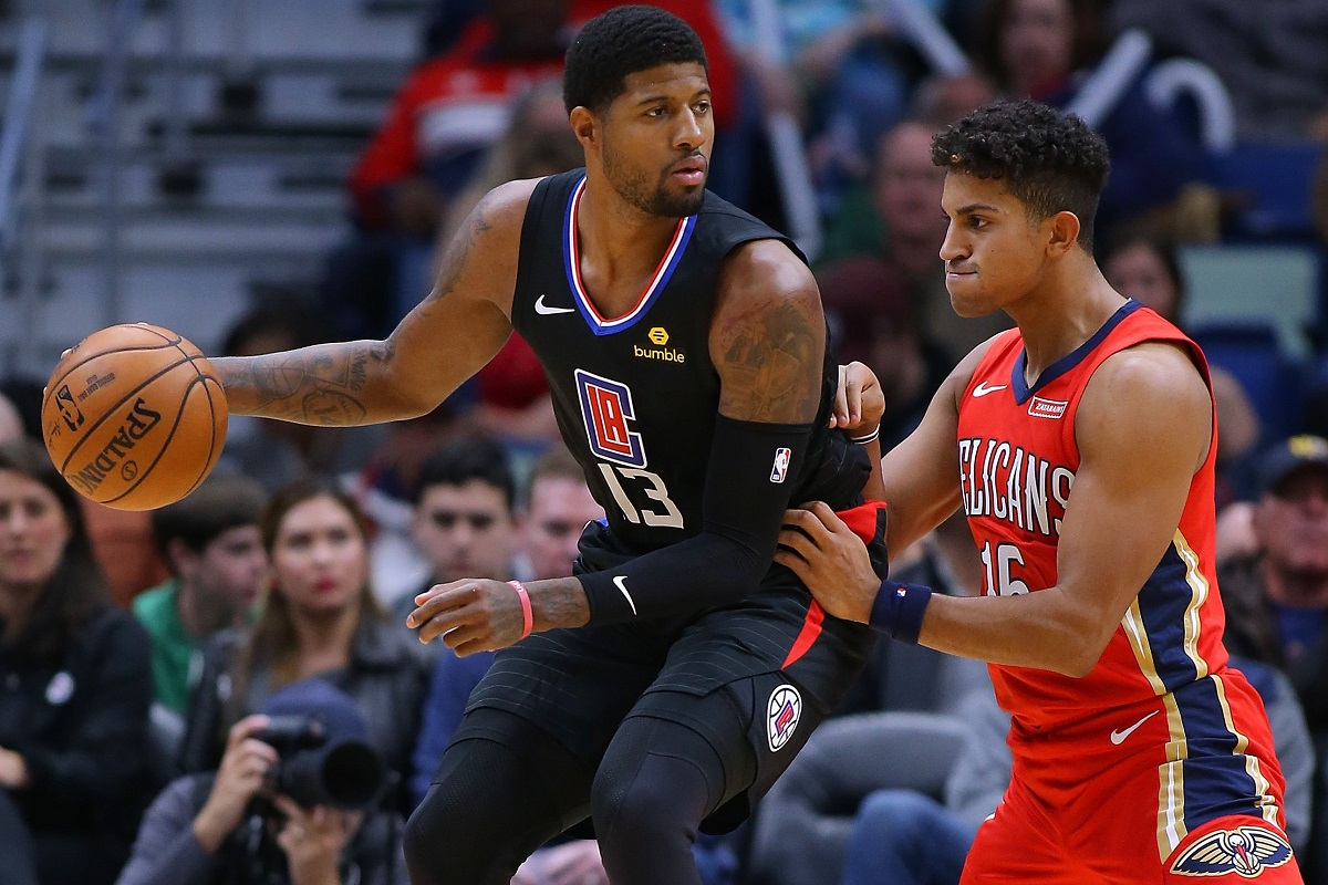 Paul George LA Clippers home debut NBA Weekend Trae Young LA