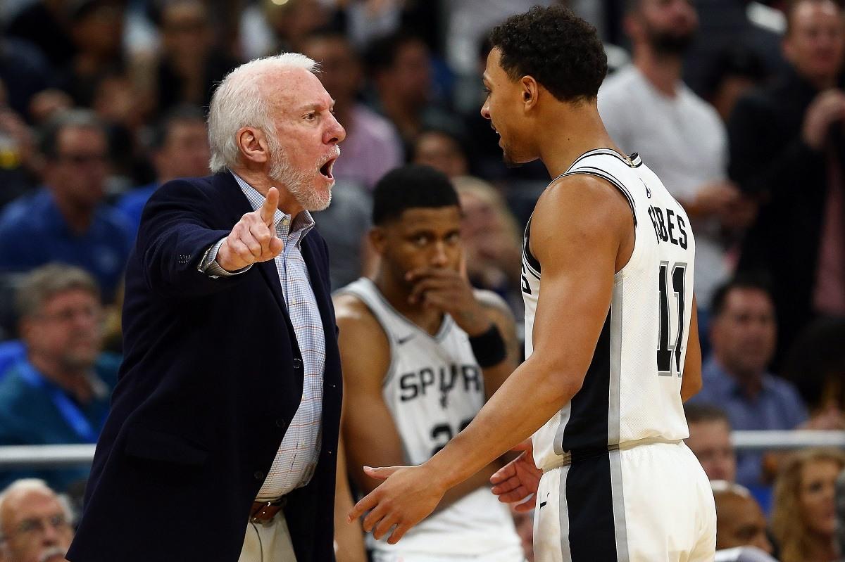 San Antonio Spurs Losing Streak Gregg Pops Popovich