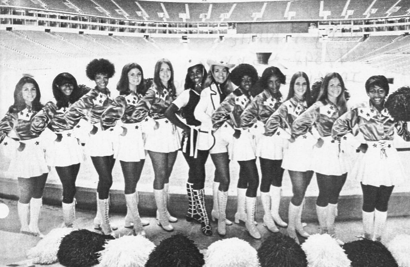 Dallas Cowboys Cheerleaders, 1971