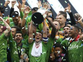The Seattle Sounders dominated the second half to win the MLS Cup final 3-1 over Toronto FC. (Image: Omar Vega/Getty)