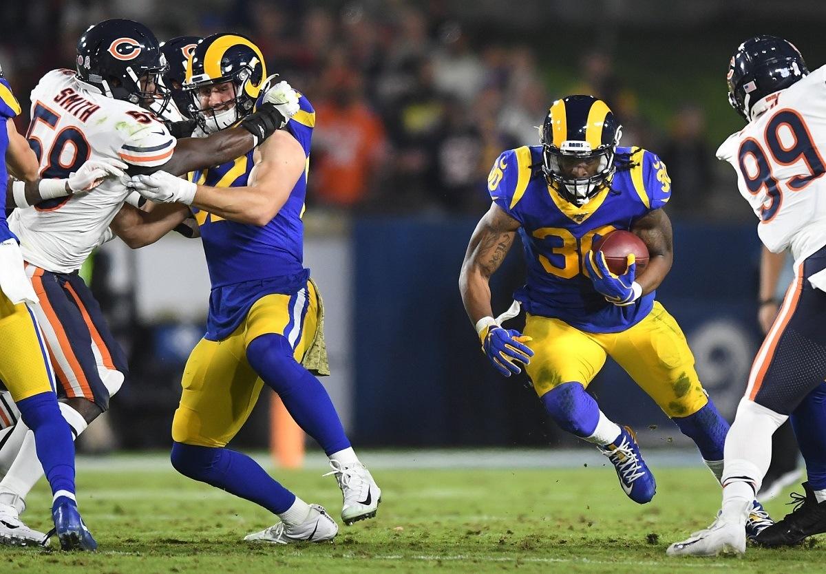 Todd Gurley LA Rams Home Dog Alert Monday Night Football