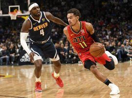 The Denver Nuggets struggled to guard the red-hot Trae Young from the Atlanta Hawks. (Image: Porter Lambert/Getty)