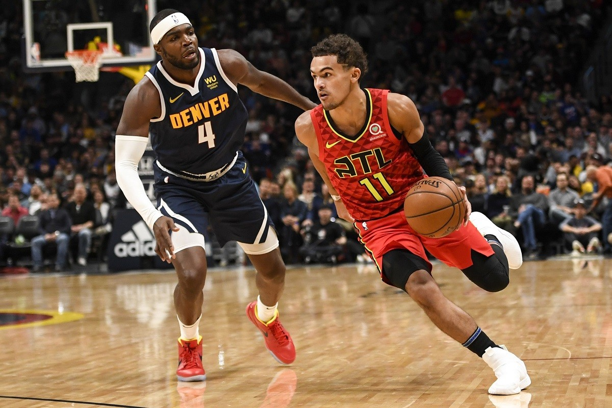 Atlanta Hawks Trae Young explodes for 42 points against Denver Nuggets