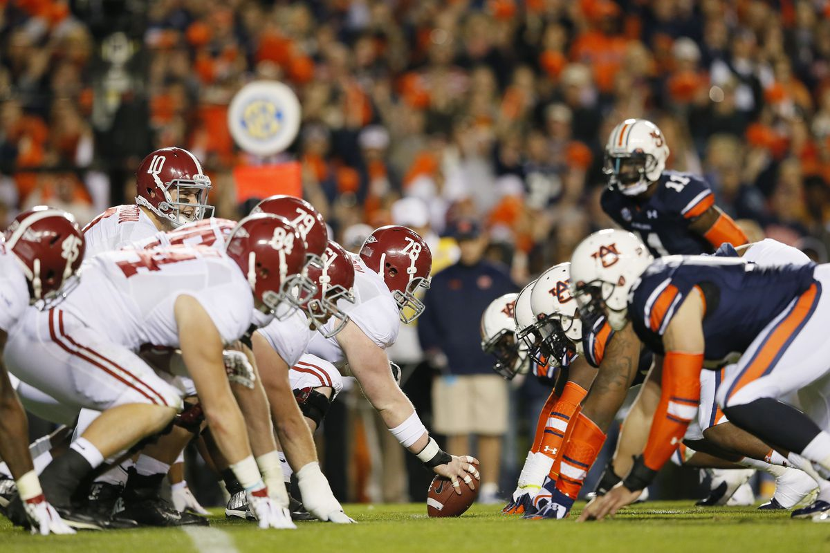 Alabama-Auburn game