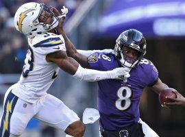 In Sunday's 49ers-Ravens game, San Francisco will have its hands full trying to contain Baltimore quarterback Lamar Jackson. (Image: Getty)