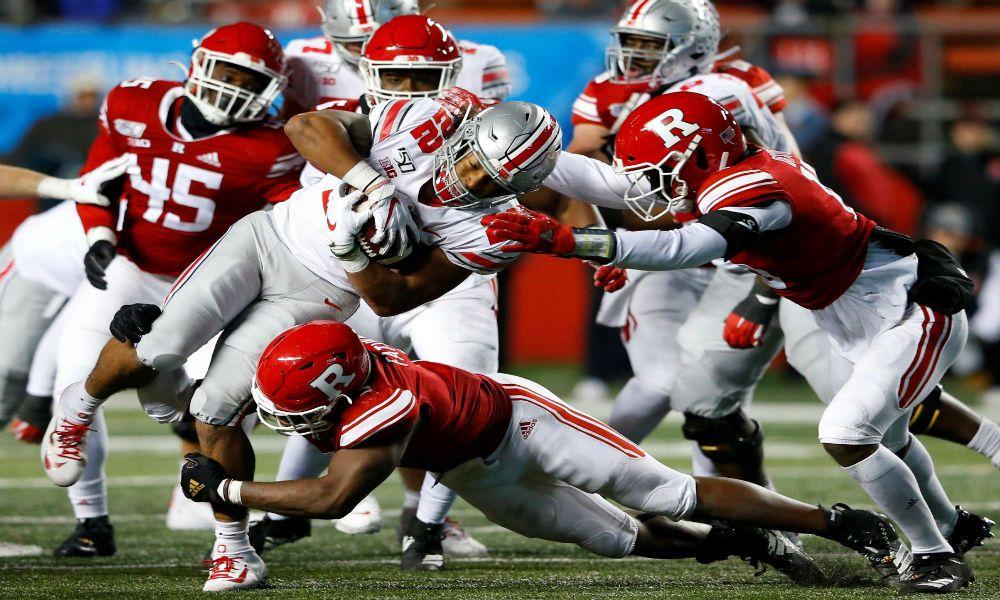 Ohio-State Rutgers game