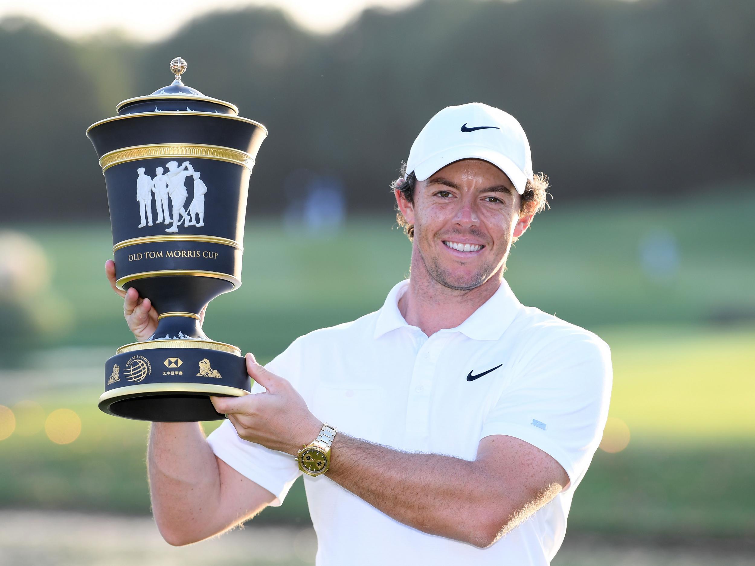 Rory McIlroy wins HSBC Champions