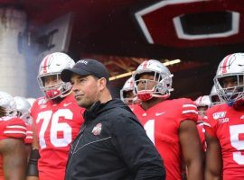 Ohio State coach Ryan Day has the Buckeyes No. 2 in the CFP Rankings, but the team is playing No. 8 Penn State on Saturday. (Image: USA Today Sports)