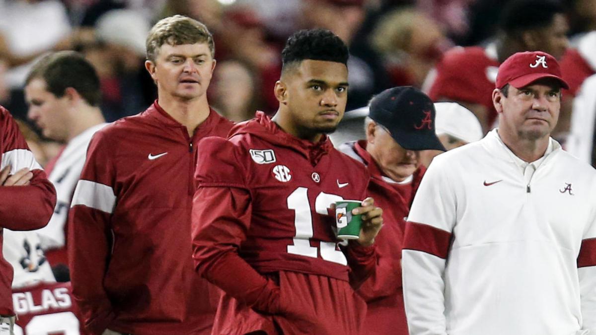 Alabama quarterback Tua Tagovailoa