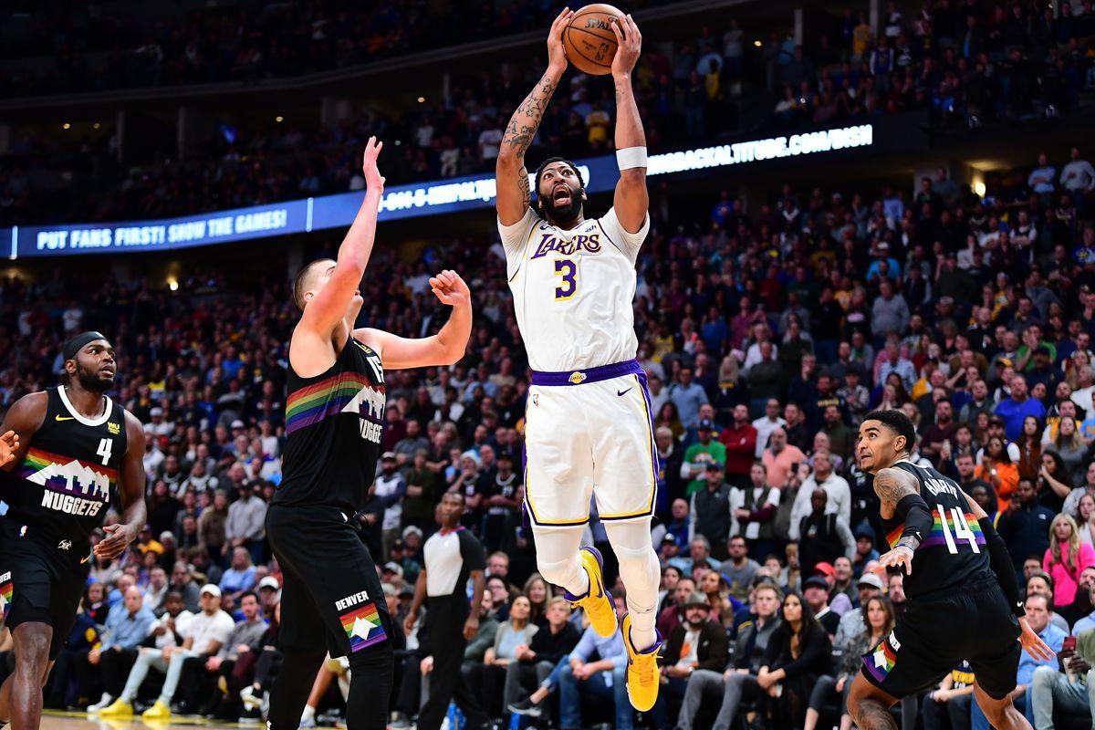 Anthony Davis Flu LA Lakers best road record