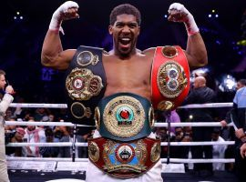 Anthony Joshua regained his three heavyweight championships with an easy decision victory over Andy Ruiz Jr. on Saturday. (Image: Richard Heathcote/Getty)