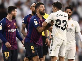 Barcelona will host Real Madrid in an El Clasico that was delayed from its original date because of Catalan protests. (Image: Oscar Del Pozo/AFP/Getty)