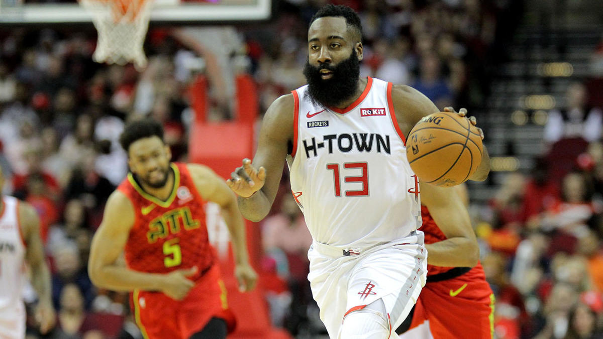 James Harden 60 Points Houston Rockets Atlanta Hawks