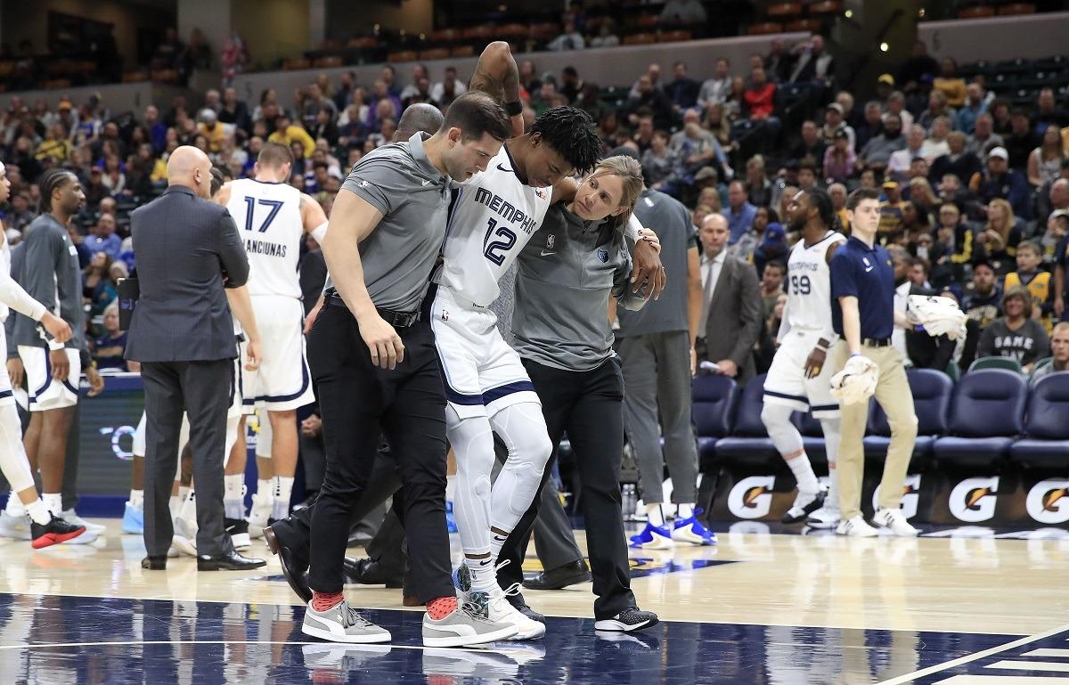 Ja Morant Injury Update Back Spasms Memphis Grizzlies