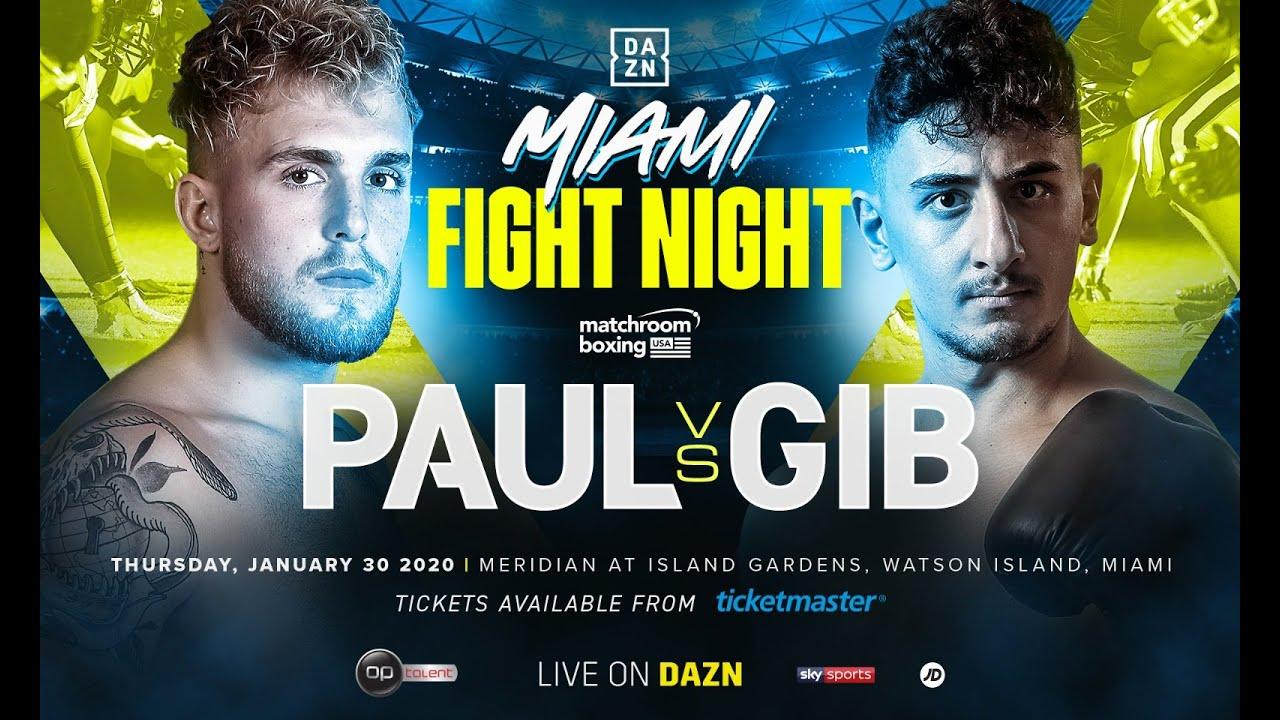 Jake Paul AnEsonGib boxing