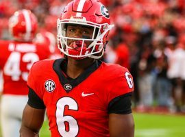 Georgia running back James Cook is one of the few rushers available on the Bulldog's roster and is in for a big day against Baylor in the Sugar Bowl. (Image: Dawg Nation)