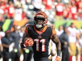 Cincinnati Bengals wide receiver John Ross III returns in Week 14 from a serious should injury and could be a DFS boon. (Image: DraftKings)