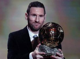 Lionel Messi earned a record sixth Ballon d'Or award, breaking a tie with his generational rival Cristiano Ronaldo. (Image: AP)