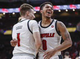 The Louisville Cardinals are the fourth men's basketball team to hold the No. 1 ranking in the AP Top 25 Poll so far this season. (Image: Michael Hickey/Getty)
