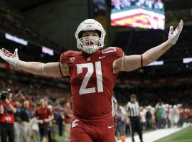 Washington State running back Max Borghi could have a big day against Air Force in the Cheez-It Bowl, either by air or ground. (Image: Coug Center)
