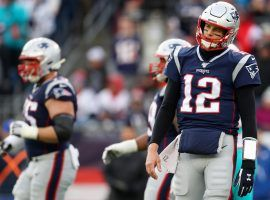 Tom Brady and the Patriots are in unfamiliar territory, as they have to play in the Wild Card round for the first time since 2009. (Image: Maddie Meyer/Getty)