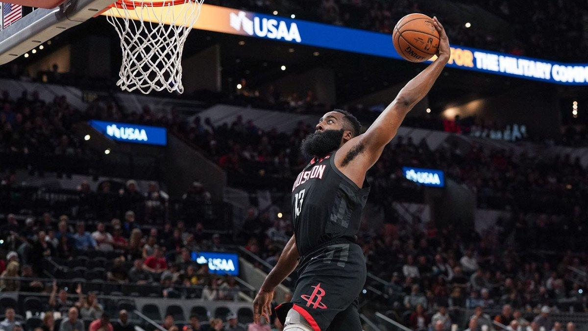 Rockets Spurs James Harden