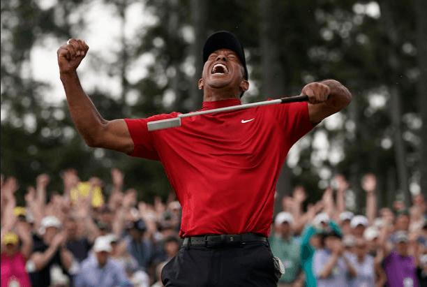 Tiger Woods at 2019 Masters