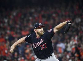 Stephen Strasburg signed a record seven-year, $245 million contract with the Washington Nationals on Monday. (Image: Toni L. Sandys/Washington Post/Getty)