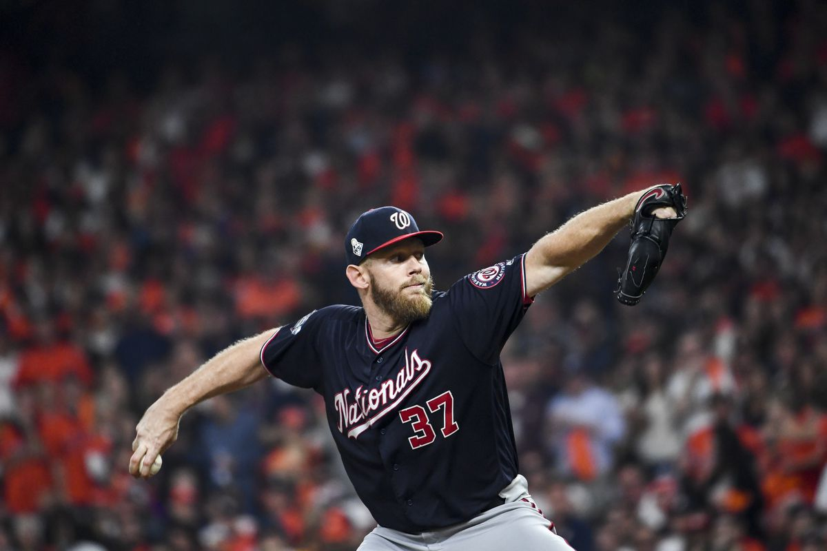 Stephen Strasburg Contract Nationals