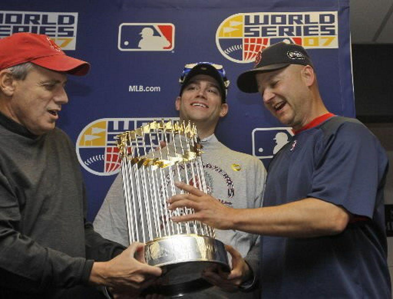 Terry Francona stolen World Series rings