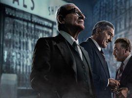 Joe Pesci, Robert DeNiro, and Al Pacino in 'The Irishman' directed by Martin Scorsese. (Image: Netflix)