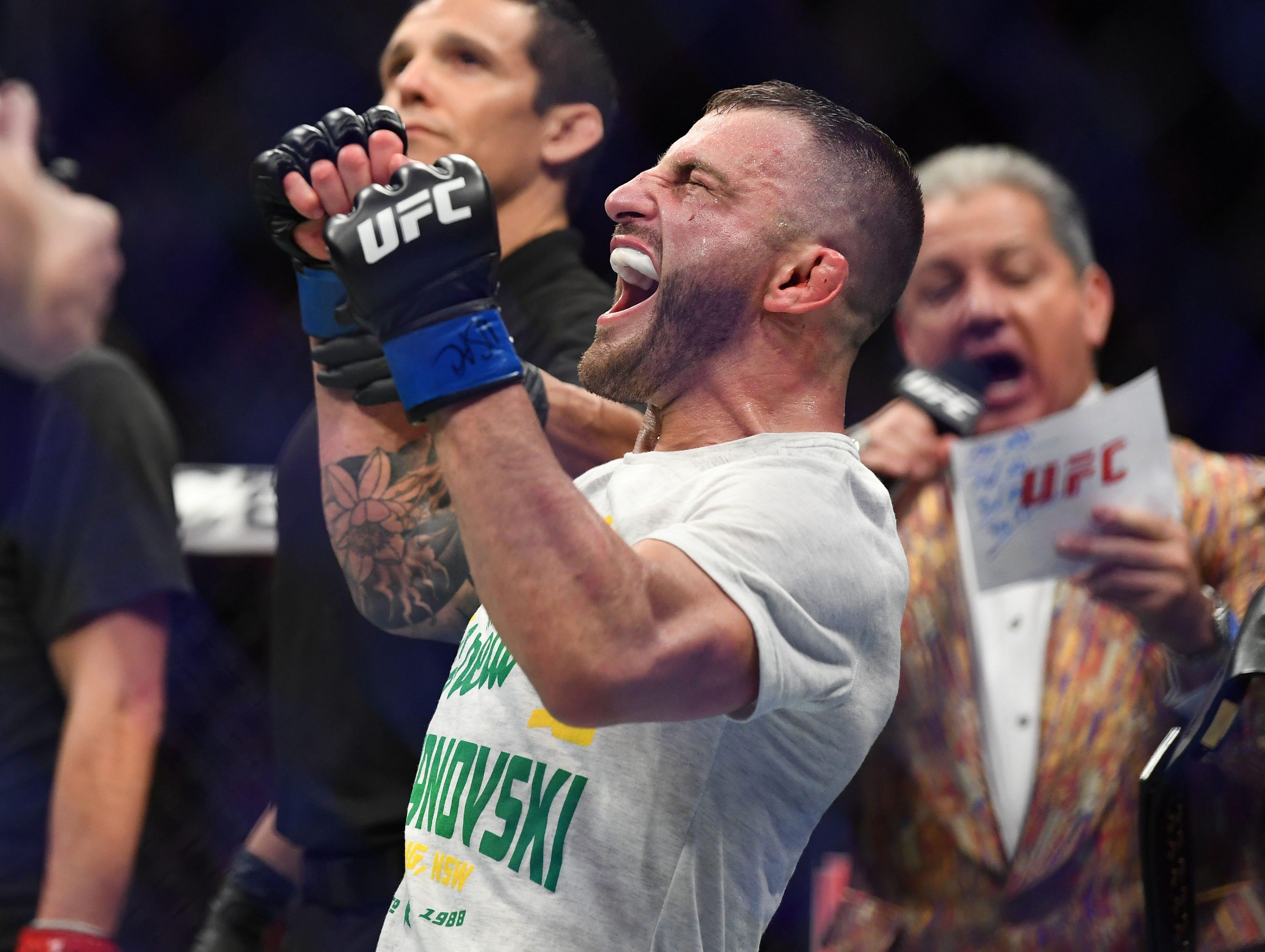 Volkanovski Usman UFC 245