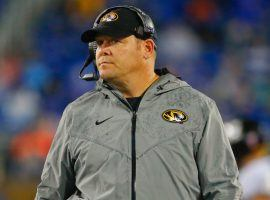 Missouri's Barry Odom was one of five college coaches fired on Black Sunday. (Image: USA Today Sports)