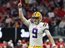 LSU quarterback Joe Burrow led the Tigers to the No. 1 spot in the final College Football Playoff Rankings, and will face No. 4 Oklahoma in the semifinal on Dec. 28. (Image: Jason Getz)